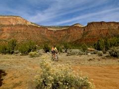 Todd mountain biking Sinbad Valley