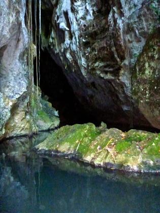 Entrance to Barton Creek Cave
