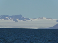 One of the many, many glaciers on Svalbard