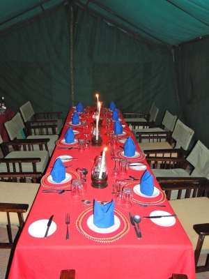 First campground dining room