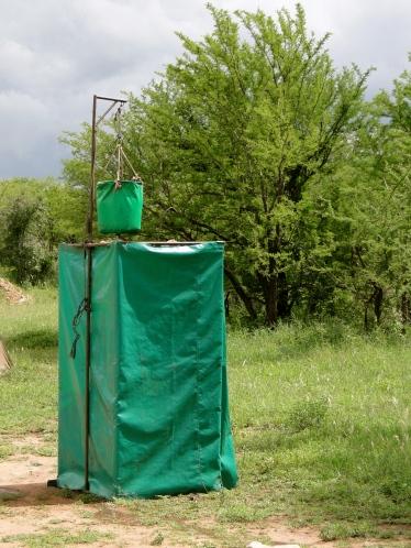 Shower on the Serengeti