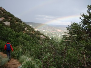 Rainbow at Pikes Peak