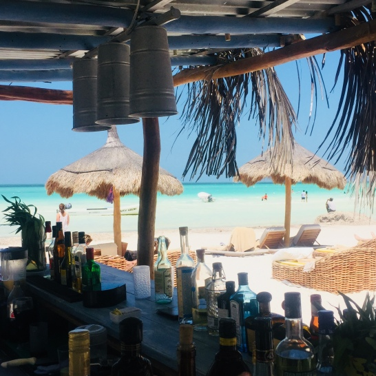 Our beach bar
