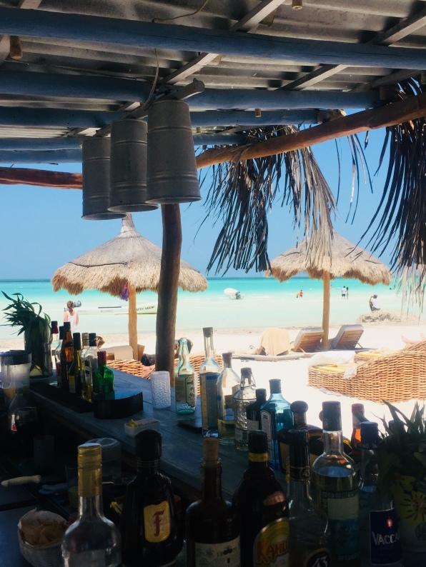 Our beach bar
